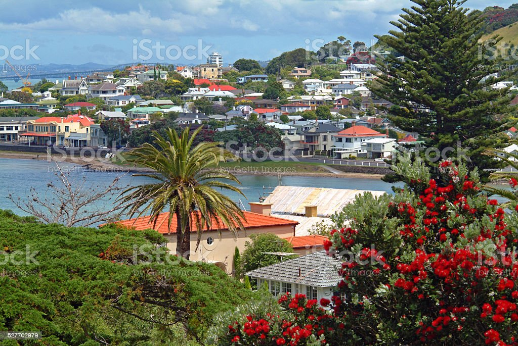 Devonport, Auckland, New Zealand stock photo