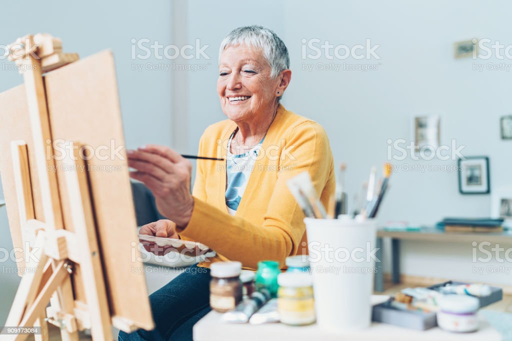 Devoting enough time to my favorite hobby stock photo