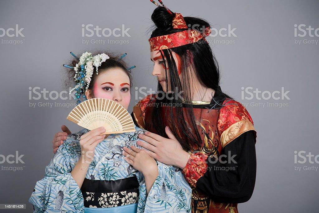 Devotion royalty-free stock photo
