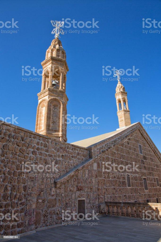 Deyrul Zafaran church royalty-free stock photo