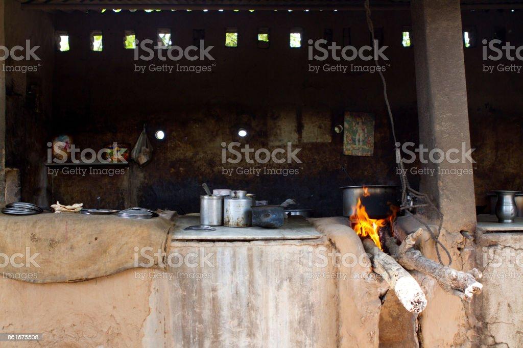 Dhaba indian restourant stock photo