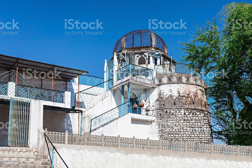 Dhai Seedi Ki Masjid stock photo