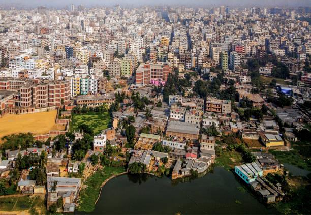 방글라데시 다카 스톡 사진