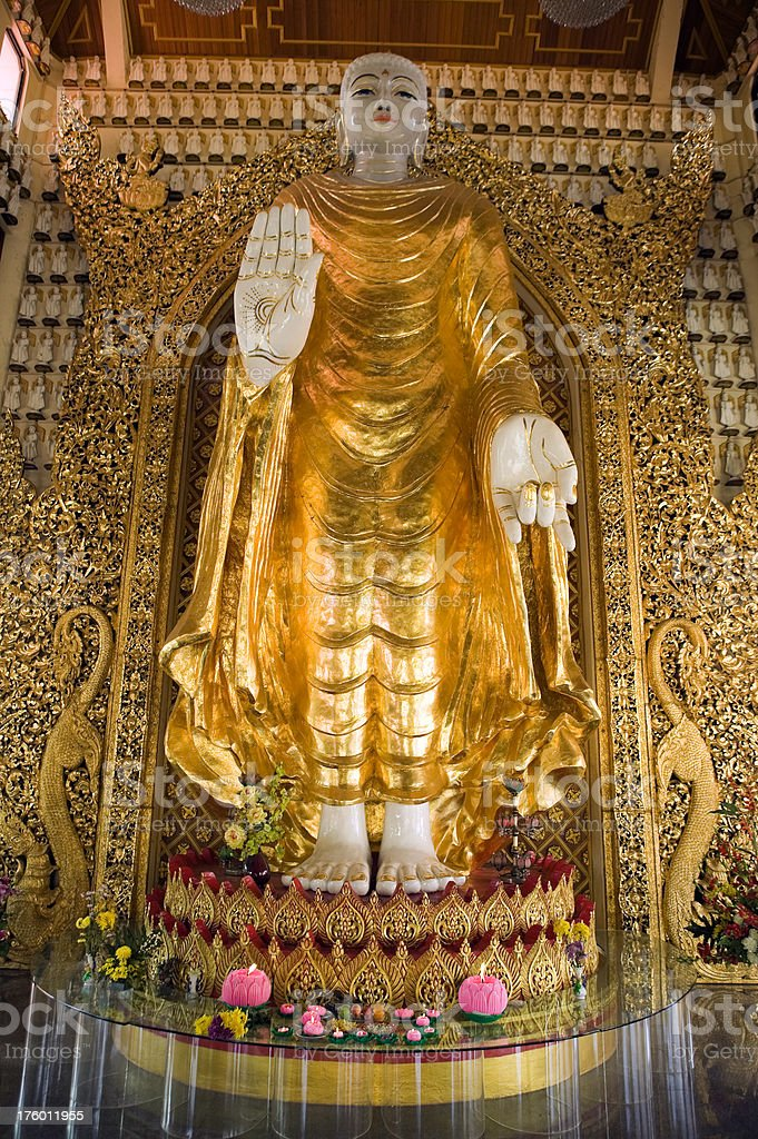 dhammikarama burmese temple penang malaysia buddha royalty-free stock photo