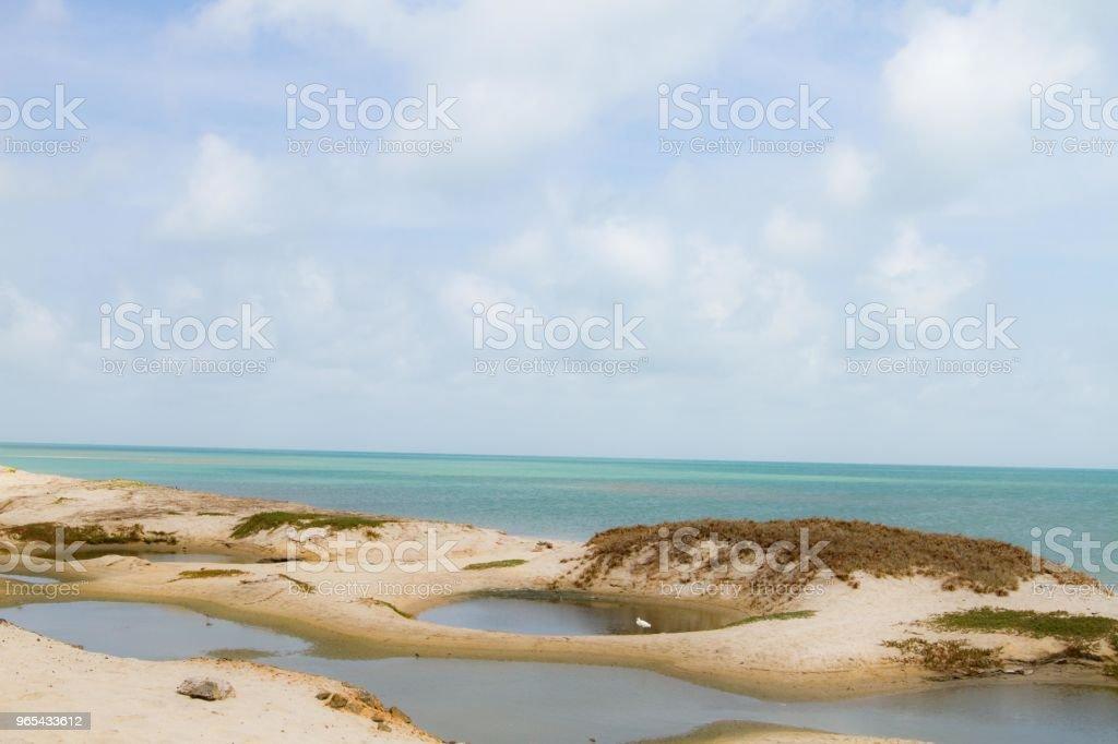 Dhanushkodi Beach in Tamil Nadu, India zbiór zdjęć royalty-free