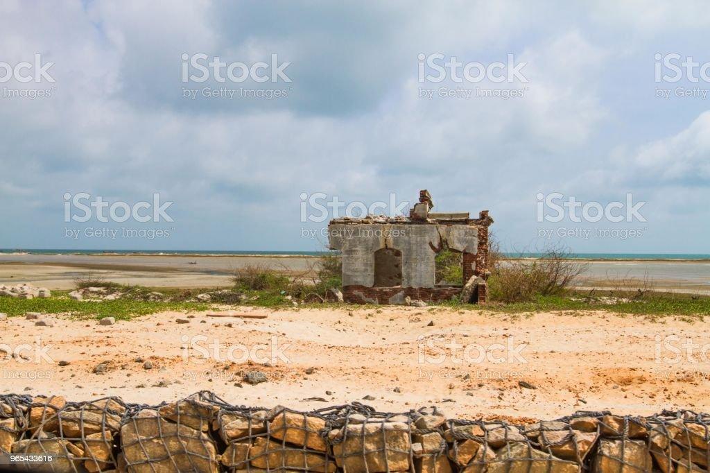 Luftfahrttechnik-Ruinen - Lizenzfrei Asien Stock-Foto