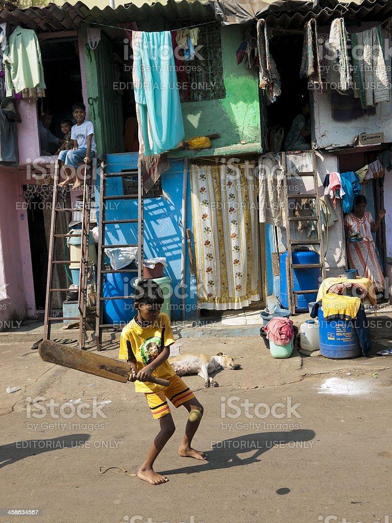 Dharavi Slum stock photo
