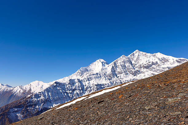 Dhaulagiri.  Everest Circuit.  Nepal Motive. – Foto