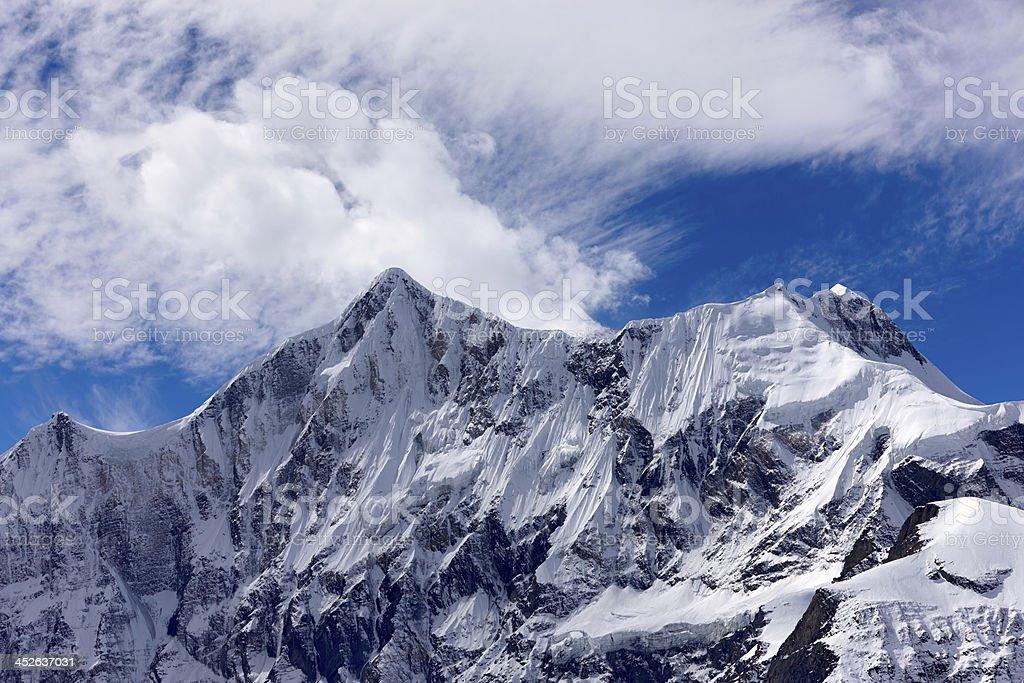 Dhaulagiri. Everest Circuit. Nepal motives. royalty-free stock photo