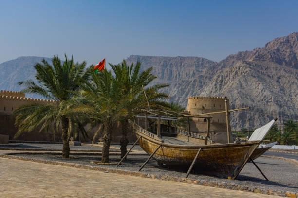 Dhau in Khasab Fort musandam – Foto