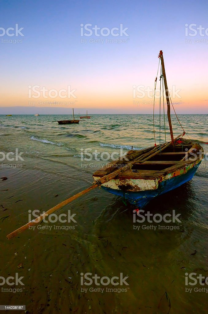 Dhow royalty-free stock photo