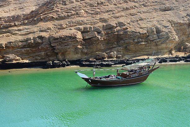 Dhow, Sur, Oman stock photo
