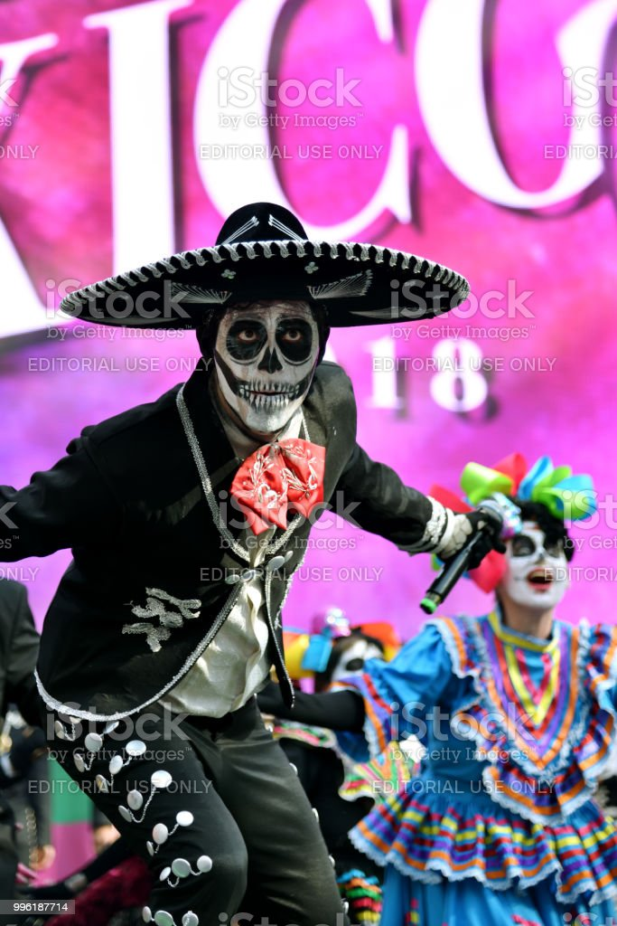 Dia De Los Muertos Carnival Sugar Skull Makeup Man Day Of The Dead