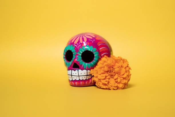 Dia De Los Muertos Day of the Dead Altar stock photo