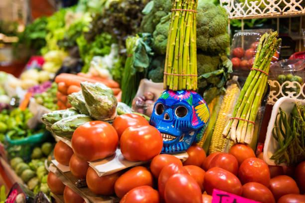 Dia de Muertos Dekorationen in Mexiko – Foto
