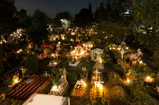 Dia dos Mortos em Xochimilco - México stock photo