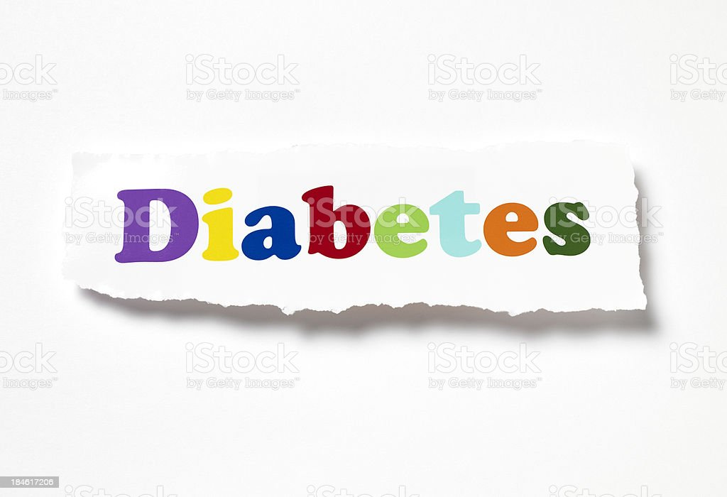 Diabetes royalty-free stock photo