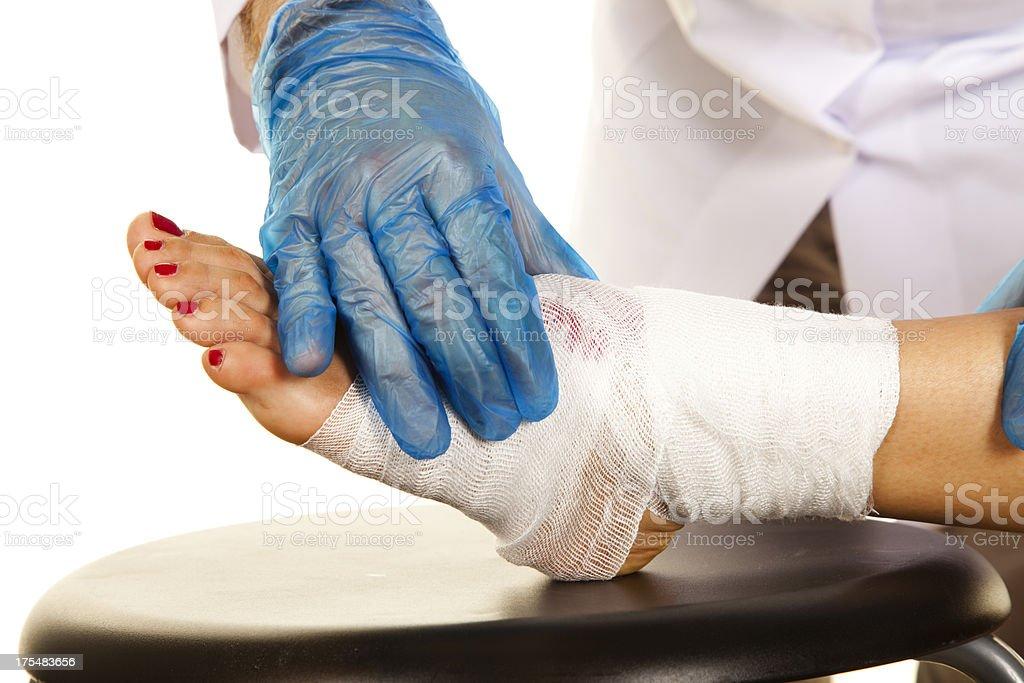 Diabetische Fuß – Foto