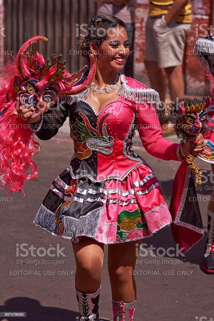 Diablada Dance stock photo