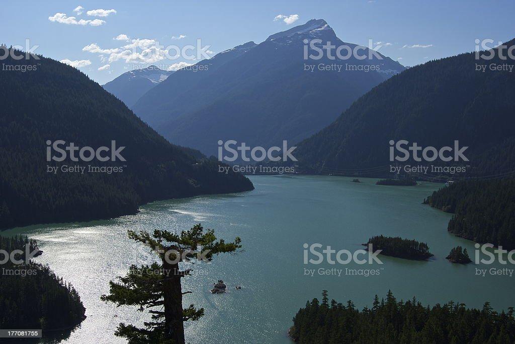 Diablo Lake royalty-free stock photo
