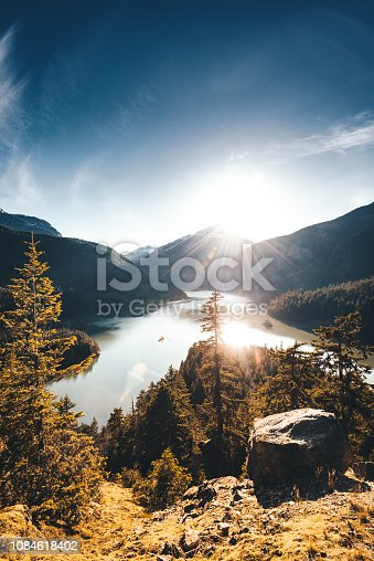 diablo lake view