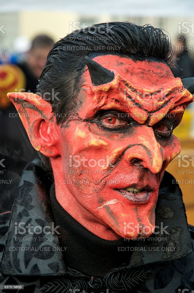 Diabolical Carnival stock photo