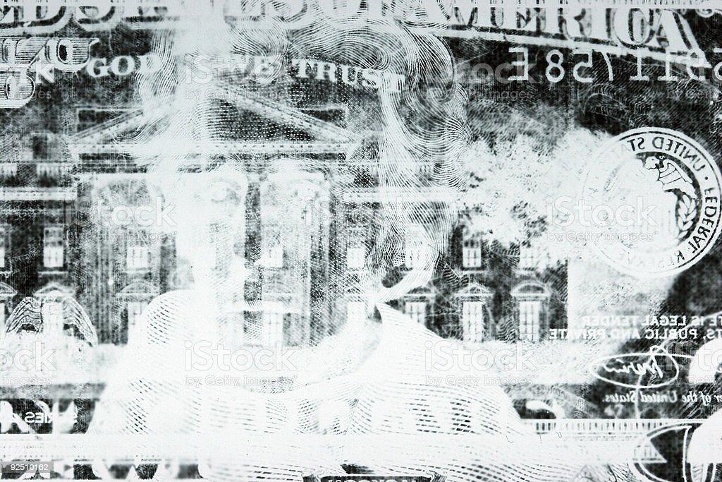 Diagnostic Money royalty-free stock photo