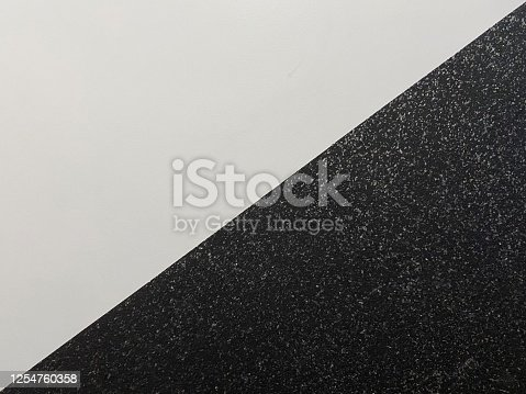 477312602 istock photo Diagonal black and white wall detail 1254760358