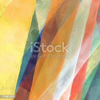 istock Diagonal Painted Abstract 173813237