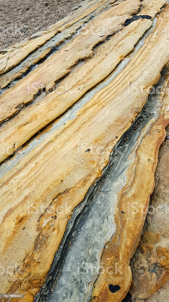 Diagonal Rock Abstract stock photo