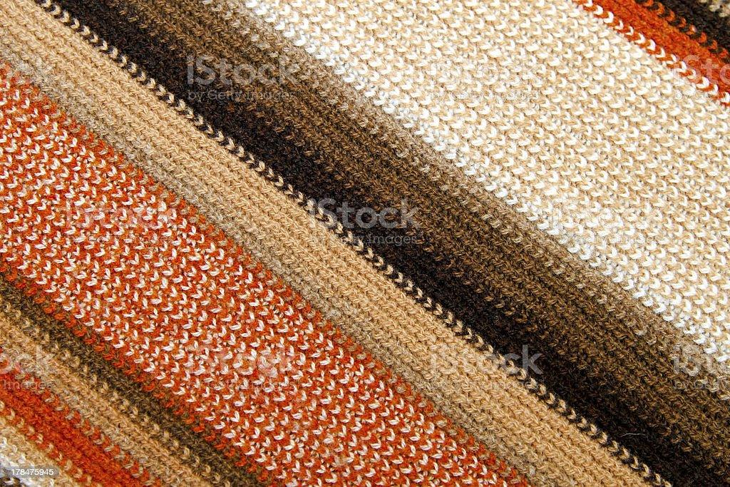 Diagonal scarf royalty-free stock photo