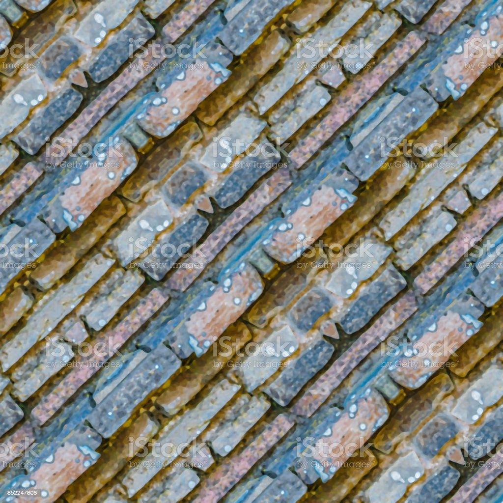 Diagonal Stripes Abstract Texture stock photo