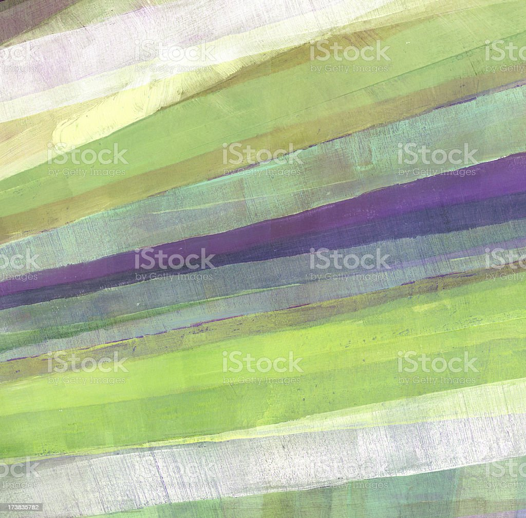 Diagonal Stripes with Green and Purple royalty-free stock photo