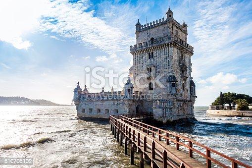 torre de belem in Lisboa
