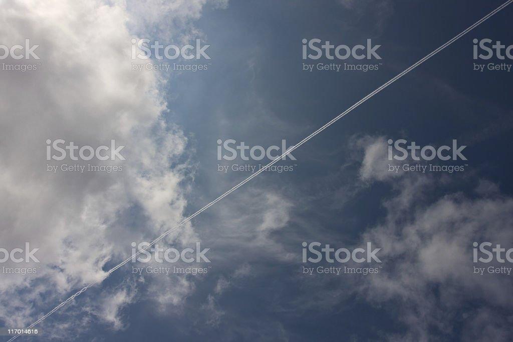 diagonally royalty-free stock photo