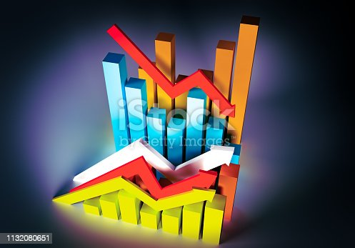 istock diagram economic progress GRAPHIC ILLUSTRATION 1132080651