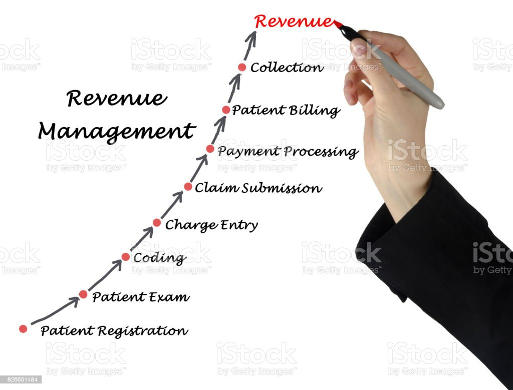 Diagram of Revenue  Management stock photo