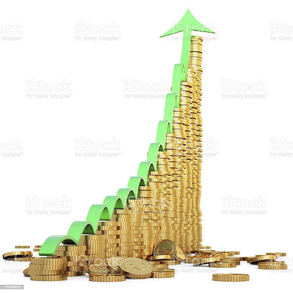 diagram royalty-free stock photo
