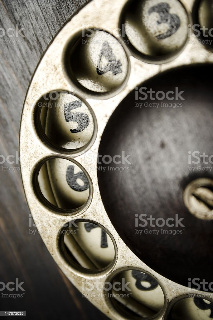 dial ring royalty-free stock photo