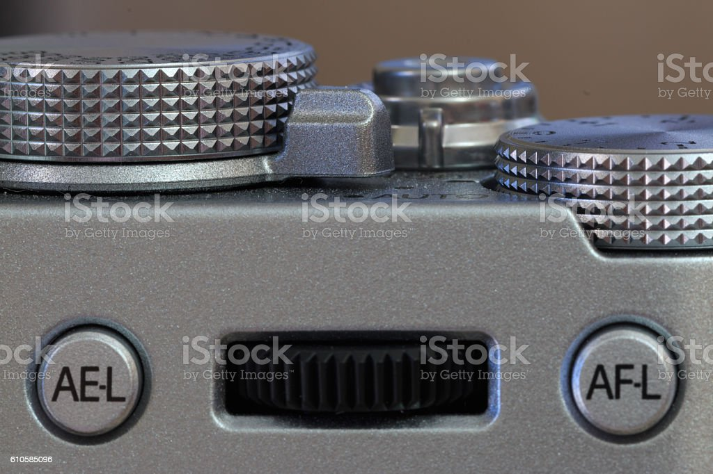 Dials and controls stock photo