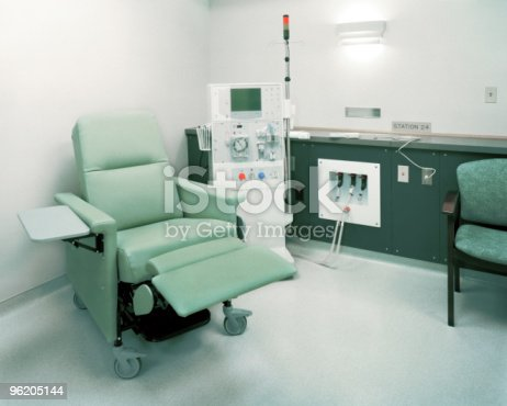Dialysis Room Stock Photo & More Pictures of Color Image