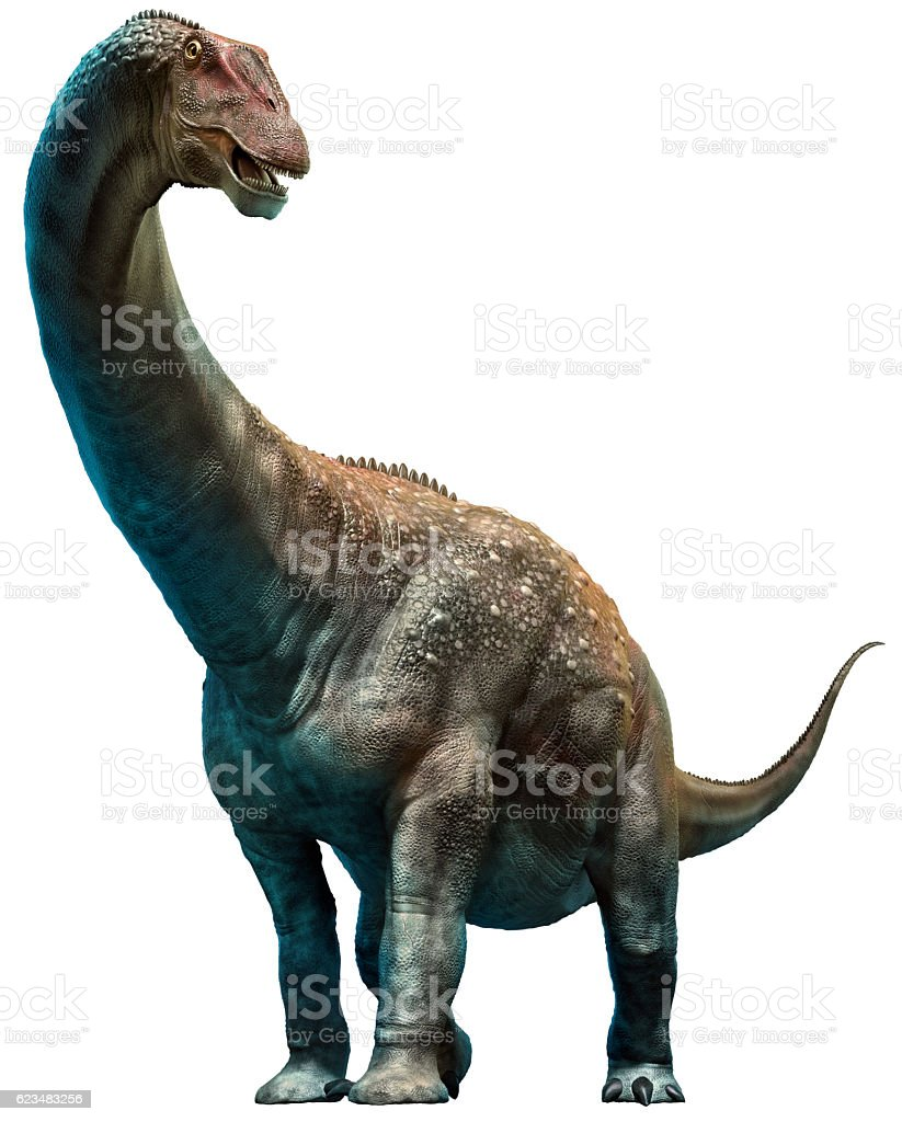 Diamantinasaurus stock photo