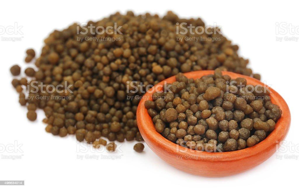 Diammonium phosphate as fertilizer stock photo