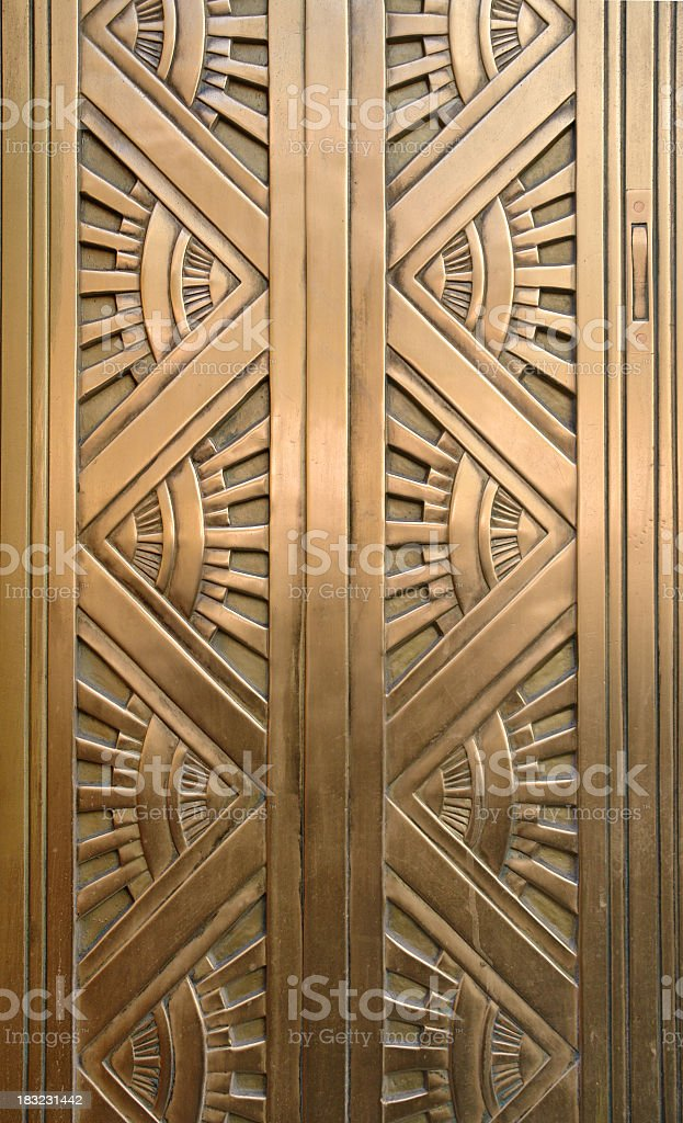 diamond art deco stock photo