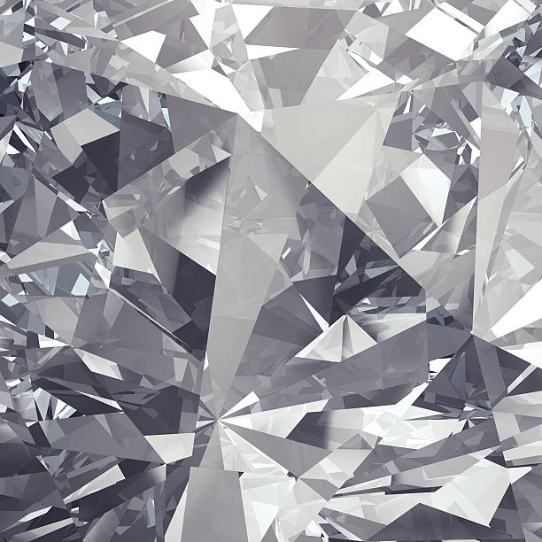 Diamond background stock photo