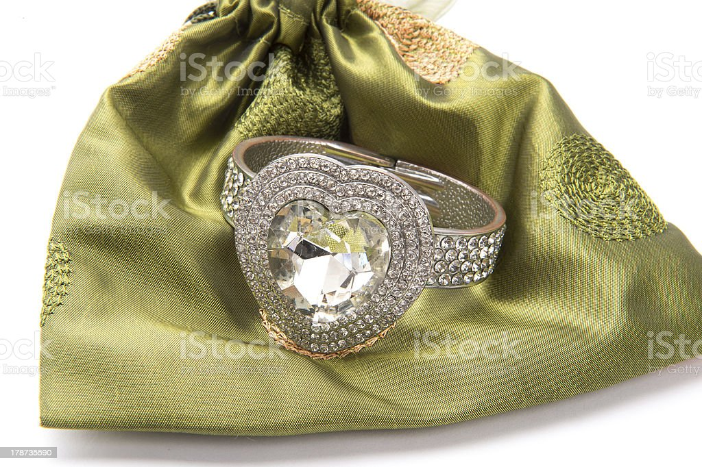 Diamond Bracelet for You! stock photo