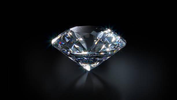 close-up van de diamant - diamant stockfoto's en -beelden