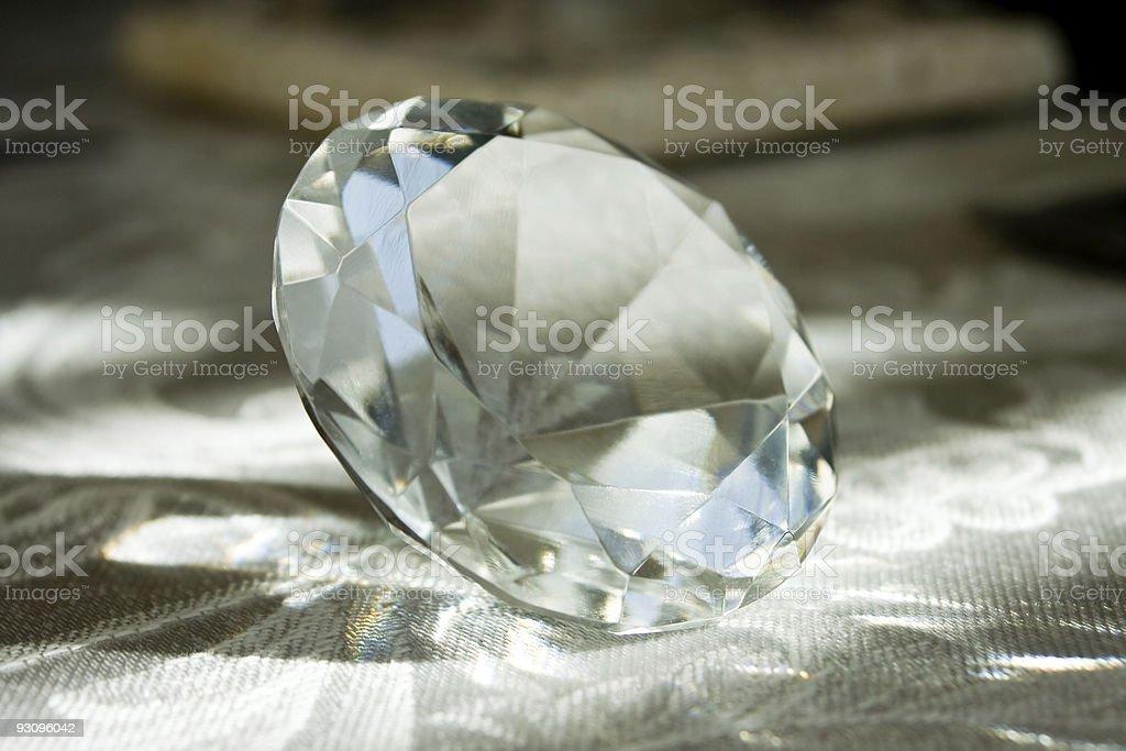 Diamond Close-up royalty-free stock photo