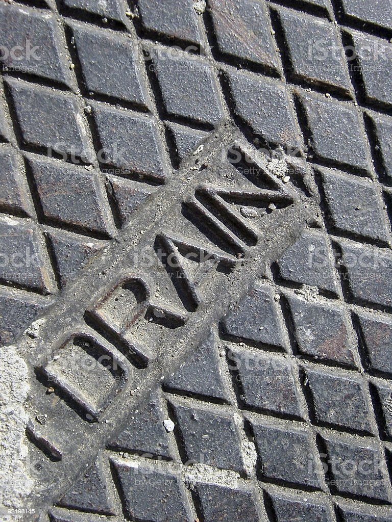 diamond drain texture royalty-free stock photo