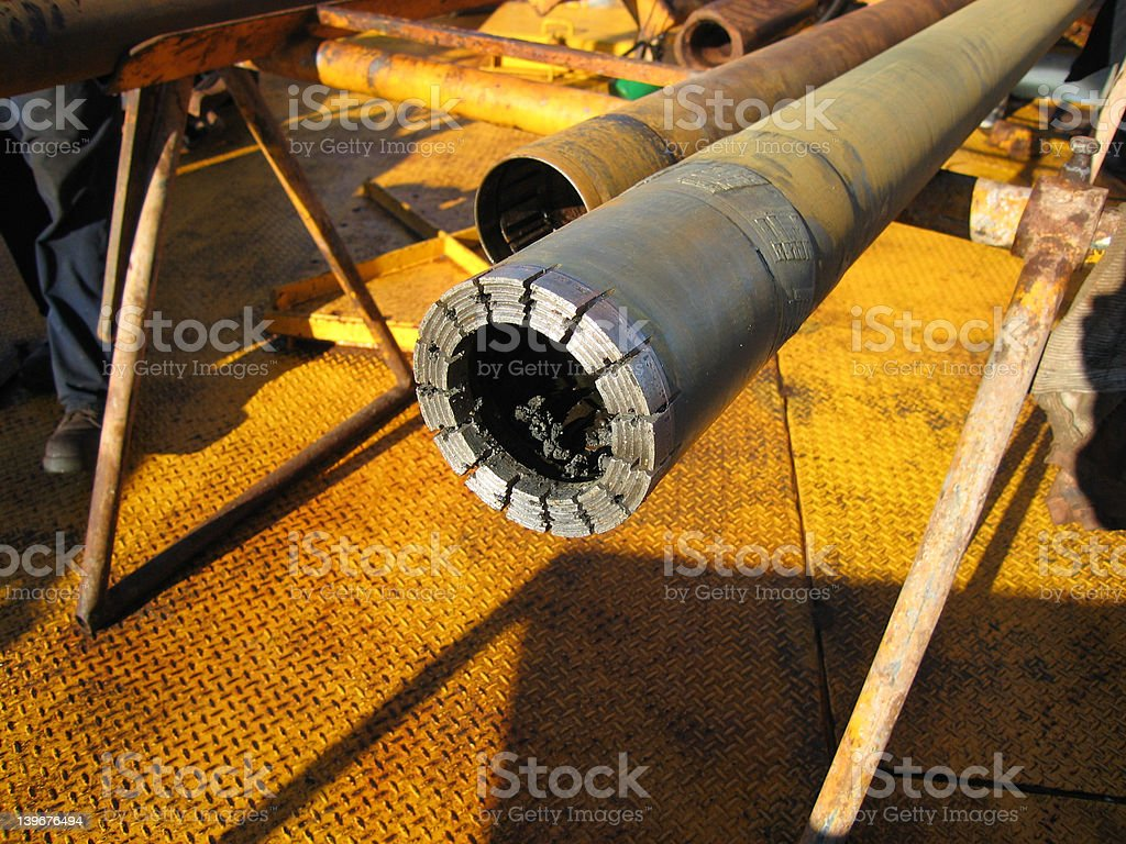 Diamond Drill Bit 002 stock photo